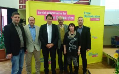 Landesparteitag der FDP in Bad Blankenburg