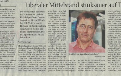 """Pressemitteilung """"Kammern zu Gebietsreform"""""""
