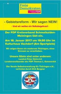 Einladung 16.01.07 um 19:30 Uhr in Vachdorf