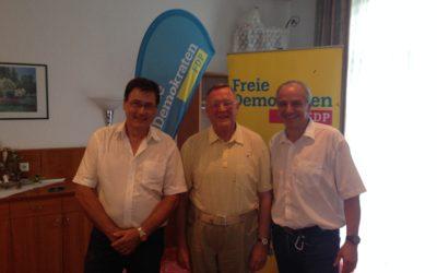 Wahlkampfauftakt von Gotha/Ilmkreis zur Bundestagswahl