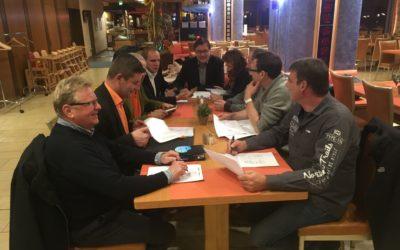 Vorstandsitzung des Kreisverbandes Schmalkalden-Meiningen