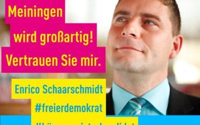 Wahl des Bürgermeisterkandidaten der FDP-Meiningen