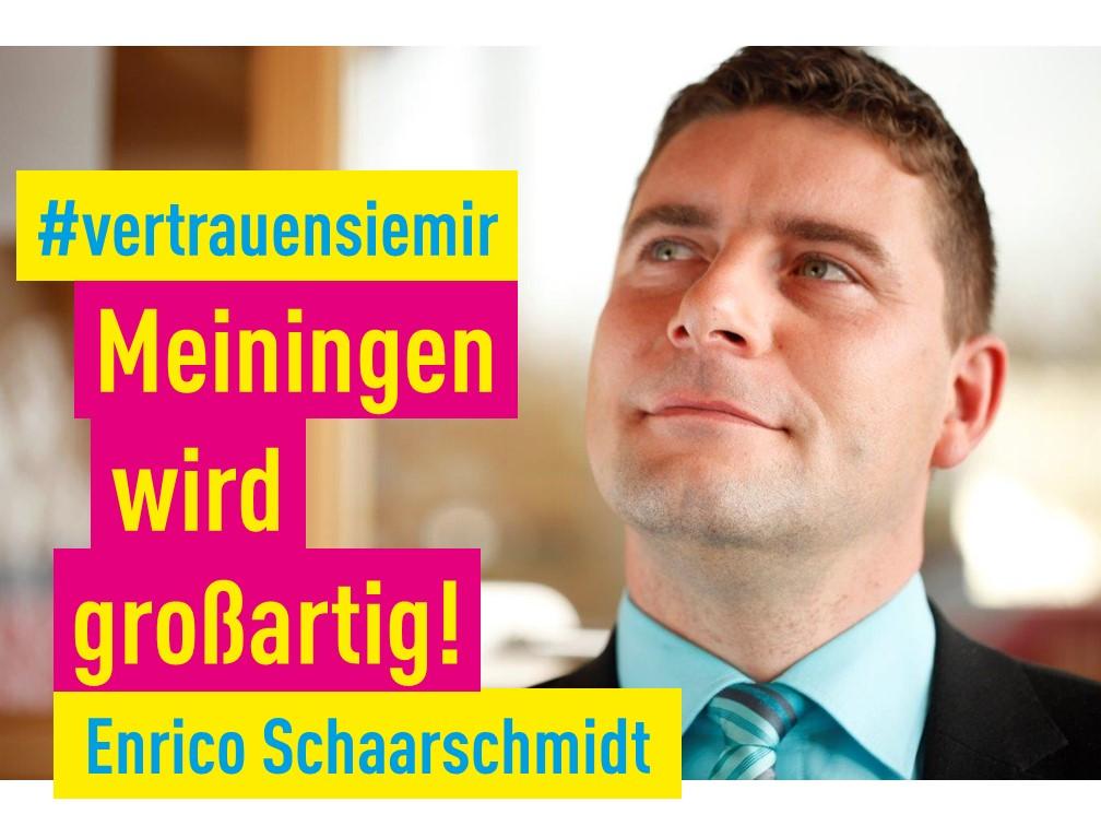 Bürgermeisterkandidat Enrico Schaarschmidt