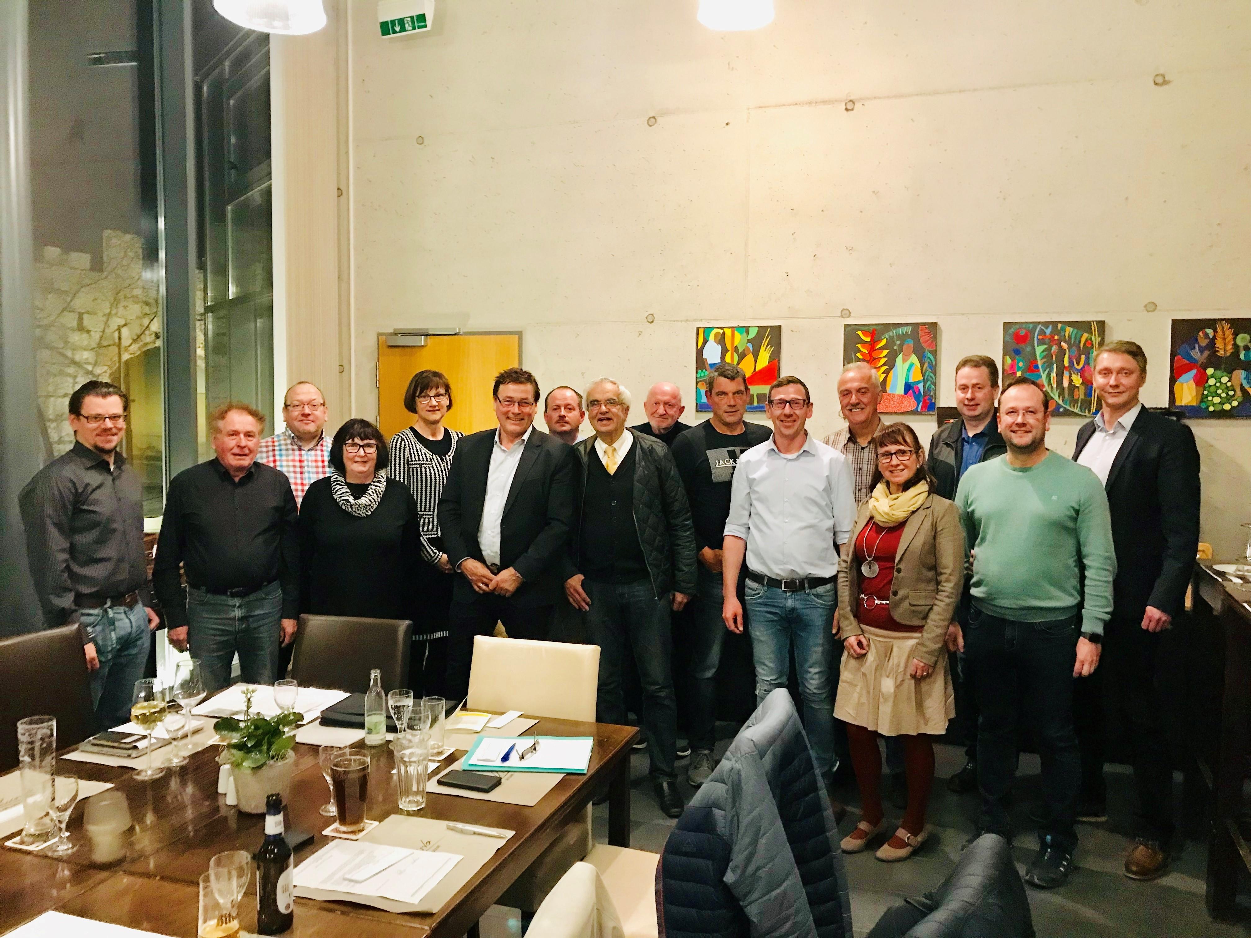 FDP-Kandidaten für die Kreistagswahl 2019